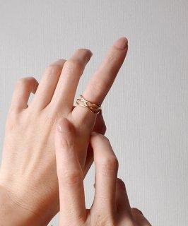 mille blanc◇Metal Ring