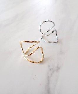 SALON◇Deformed wire ring