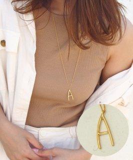 SALON◇Initial Long necklace