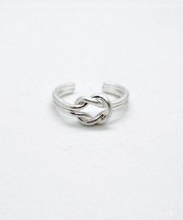 mille blanc◇Matte metal ring