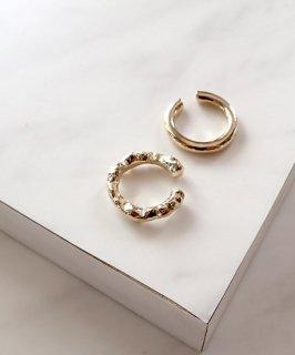 mille blanc◇2 piece Ear cuff