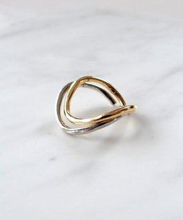 SALON◇Gold×Silver set ring