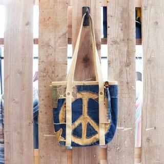 J.AUGUR DESIGN(ジュディーオウガー):パッチワークミニトートバッグ