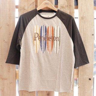 Pendleton(ペンドルトン):7分丈ラグランTシャツ