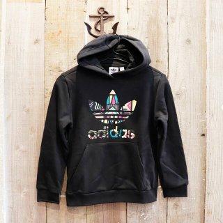 【ガールズ】Adidas Originals(アディダス オリジナルス):ロゴパーカ