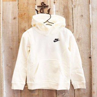 【ボーイズ】Nike(ナイキ):ロゴパーカ/Cream