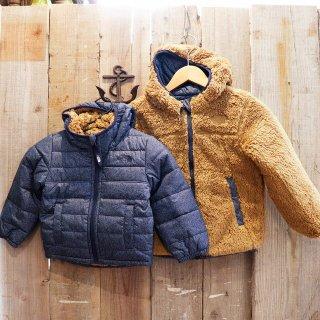 【ボーイズ】The North Face(ザ ノースフェイス):リバーシブルフーデッドジャケット