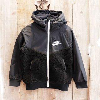 【ボーイズ】Nike(ナイキ):フリースパネルジャケット/BLACK