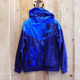 【ボーイズ】Nike(ナイキ):ウィンドブレーカー/Blue x Navy
