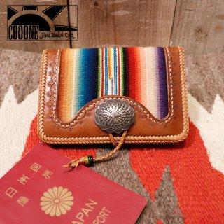 cooone:レザーパスポートケース