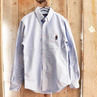 Polo Ralph Lauren(ラルフローレン):ポロベアーオックスフォードシャツ/Blue
