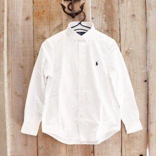 【ボーイズ】Polo Ralph Lauren(ポロラルフローレン):ボタンダウン オックスフォードシャツ