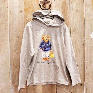 【ボーイズ】Polo Ralph Lauren(ラルフローレン):ポロベアーTシャツパーカ