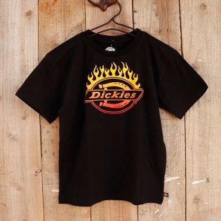 【ボーイズ】Dickies(ディッキーズ):ファイヤーパターンTシャツ