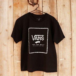 【ボーイズ】Vans(バンズ):ロゴTシャツ