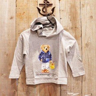【ボーイズ】Polo Ralph Lauren(ポロラルフローレン):ポロベアーTシャツパーカ