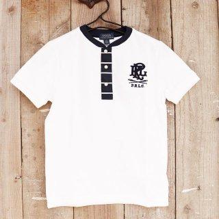【ボーイズ】Polo Ralph Lauren(ポロラルフローレン):鹿の子ヘンリーTシャツ