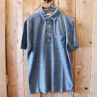 Faherty Brand(ファリティブランド):インディゴジャージーポロシャツ