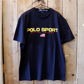 <img class='new_mark_img1' src='https://img.shop-pro.jp/img/new/icons20.gif' style='border:none;display:inline;margin:0px;padding:0px;width:auto;' />【セール】Polo Ralph Lauren(ラルフローレン):【Polo Sport】ロゴTシャツ