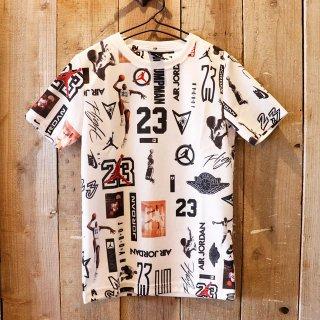 【ボーイズ】Nike Jordan Brand(ナイキ ジョーダンブランド):プリント メッシュTシャツ