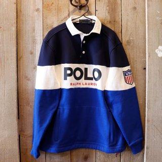 Polo Ralph Lauren(ラルフローレン):スウェットラガーシャツ