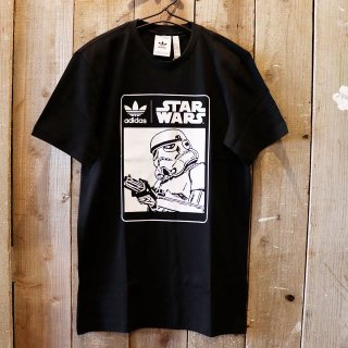 <img class='new_mark_img1' src='https://img.shop-pro.jp/img/new/icons20.gif' style='border:none;display:inline;margin:0px;padding:0px;width:auto;' />【セール】Adidas Originals x Star Wars(アディダスオリジナルス):スターウォーズ プリントTシャツ