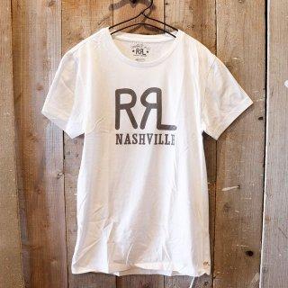 【限定】RRL(ダブルアールエルラルフローレン):【Nashville店限定】ロゴTシャツ
