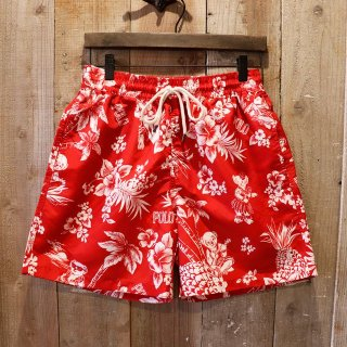 Polo Ralph Lauren(ラルフローレン):ハワイアンポロベアー スイムショーツ 水着