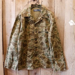 Polo Ralph Lauren(ラルフローレン):カモフラシャツジャケット