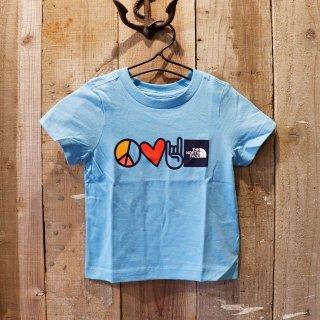 【ボーイズ】The North Face(ザ ノースフェイス):プリントTシャツ