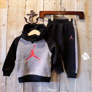 【ベビー】Nike Jordan Brand(ナイキ ジョーダンブランド):スウェットセットアップ(パーカ+パンツ)