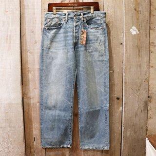 RRL(ダブルアールエルラルフローレン):Straight Legジーンズ/Light Wash