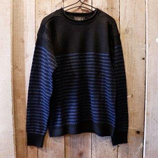 RRL(ダブルアールエルラルフローレン):インディゴロールネックセーター