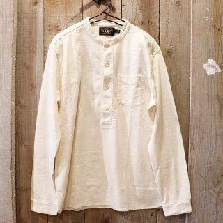 RRL(ダブルアールエルラルフローレン):バンドカラーシャツ