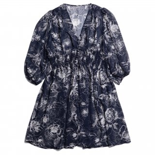 AMYER - Flower 2 Way One-Piece(Navy)<img class='new_mark_img2' src='https://img.shop-pro.jp/img/new/icons20.gif' style='border:none;display:inline;margin:0px;padding:0px;width:auto;' />