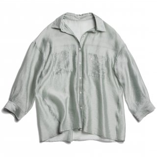 AMYER - Big Sheer Shirt(Mint)