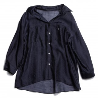 AMYER - Big Sheer Shirt(Navy)