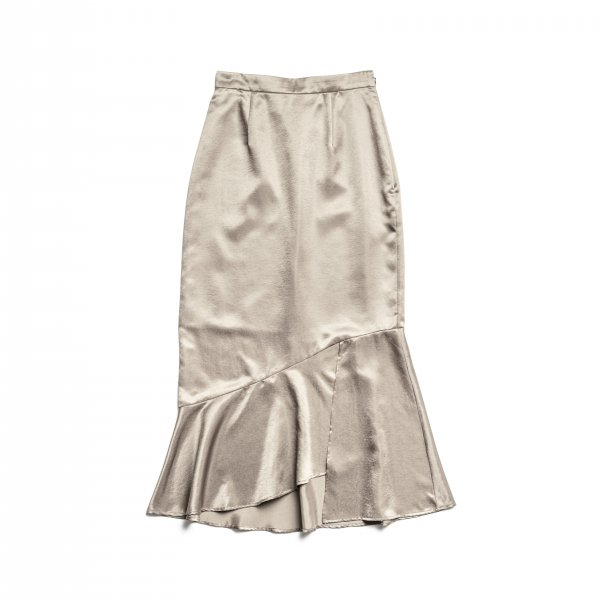 AMYER - Marmaid Skirt(Beige)