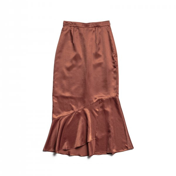 AMYER - Marmaid Skirt(Brown)