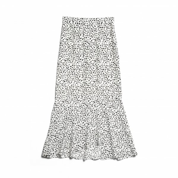 AMYER - Marmaid Skirt(Ivory×Black)