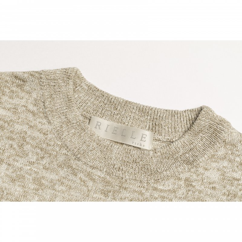 Fringe Knit Pullover(Beige)<img class='new_mark_img2' src='https://img.shop-pro.jp/img/new/icons20.gif' style='border:none;display:inline;margin:0px;padding:0px;width:auto;' />