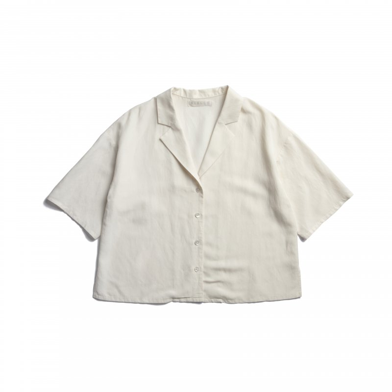 Open-Collar Shirts(Off-White)