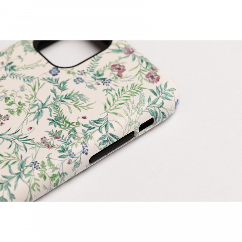 Flower Print iPhone Case(White)