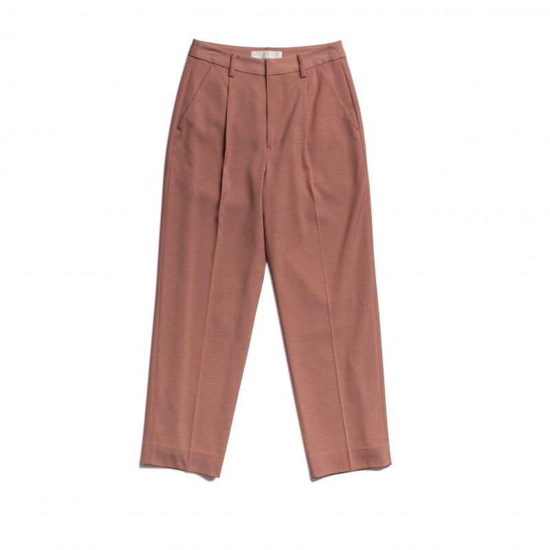 Tuck Tapered Pants(Pink)