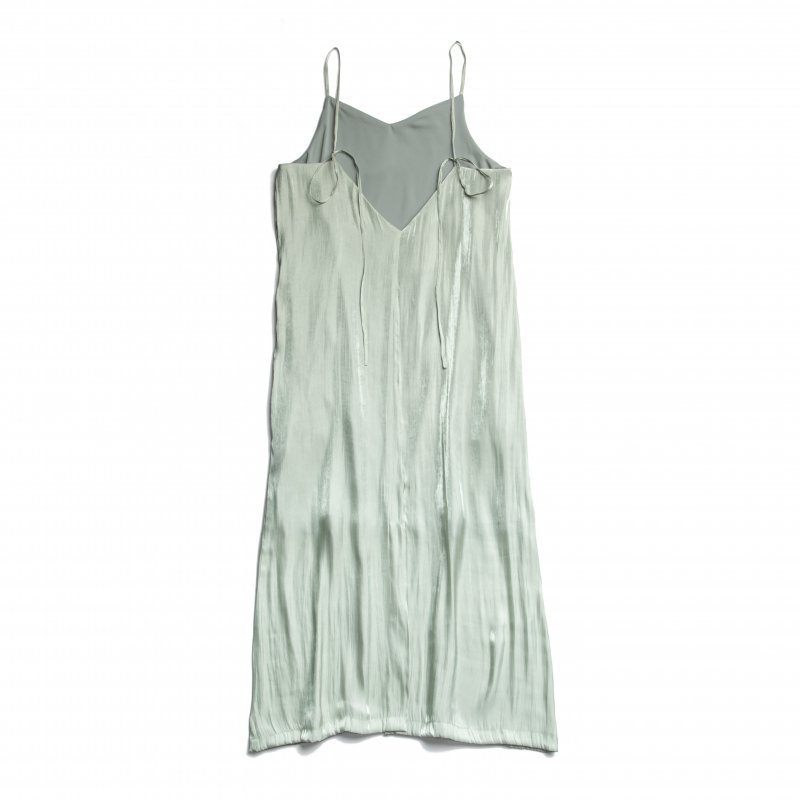 Shiny Satin Camisole One-piece(Mint)