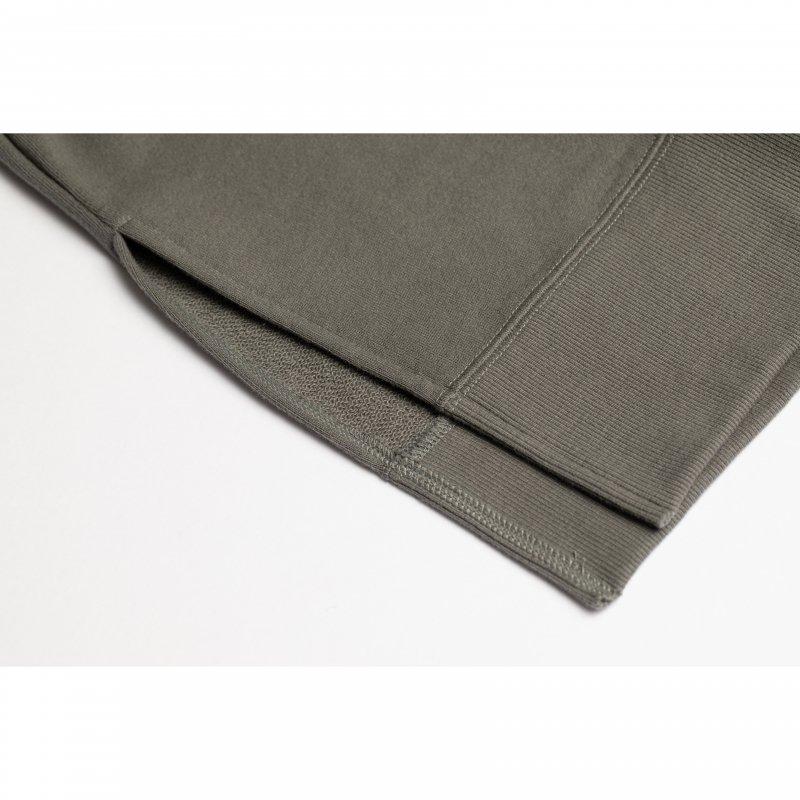 Flocky Box Logo Print Sweat(Gray)