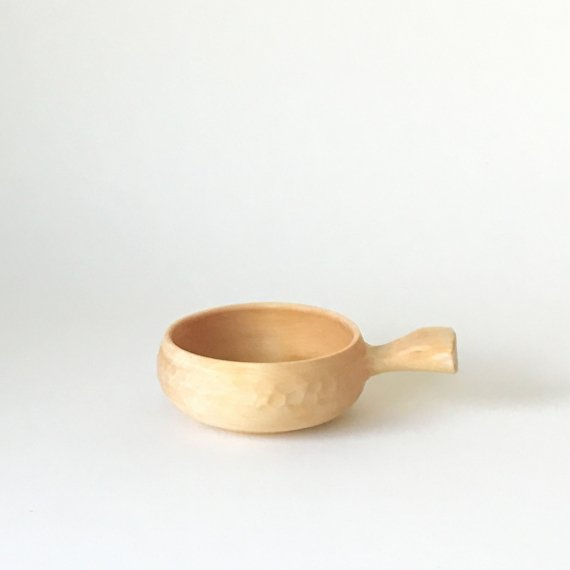 WOODEN HANDLE CUP