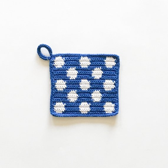 KNIT POT HOLDER - S