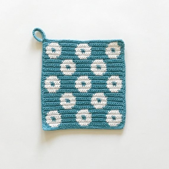 KNIT POT HOLDER - L