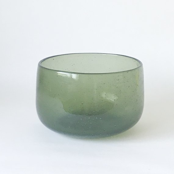 ERIK HOGLUND GLASS BOWL